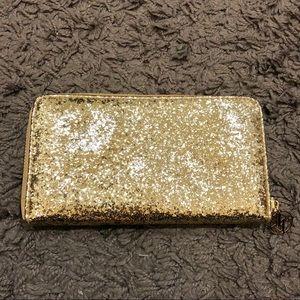 Gold Glitter Wallet 🌟